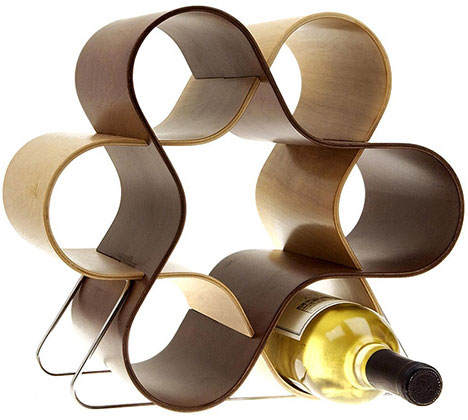 wine knot wood wine rack